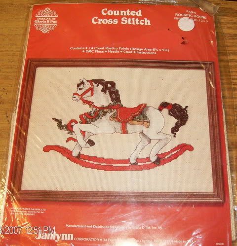 ROCKING HORSE PICTURE FROM JANLYNN-CAROUSEL STYLE