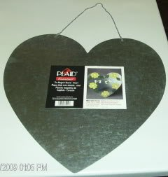 Metal Heart Magnet Hanger or Craft Project - New-#1