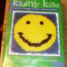 SMILY FACE PILLOW KIT KRAFTY KIDS NEW IN BOX