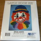 SMILE THE CLOWN SHAPED RUG NEW IN BOX NAT YARN CRAFTS