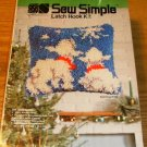 SEW SIMPLE WATCHING LAMBS - ADORABLE PILLOW KIT