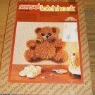 """""""LITTLE BEAR"""" CUTE BEAR KIT BY SUNSET W/ RIBBON & BELL"""