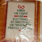 OUR BLESSINGS CHRISTMAS WISH-GREAT FOR A GIFT-CR CIRCLE
