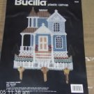 VICTORIAN HOUSE KEYHOLDER-CUTE-BLUE-NIP-BUCILLA