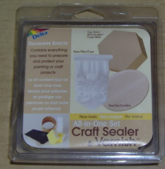 DELTA CRAFT SEALER AND VARNISH PACKAGE- NEW