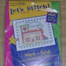LITTLE TRAIN ENGINE BEGINNERS XSTITCH KIT - CUTE