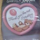 HEART SHAPED NO SMOKING BEAR FROM GOOD SHEPPARD - CUTE