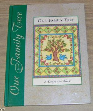 OUR FAMILY TREE - BEAUTIFUL KEEPSAKE BOOK - NEW
