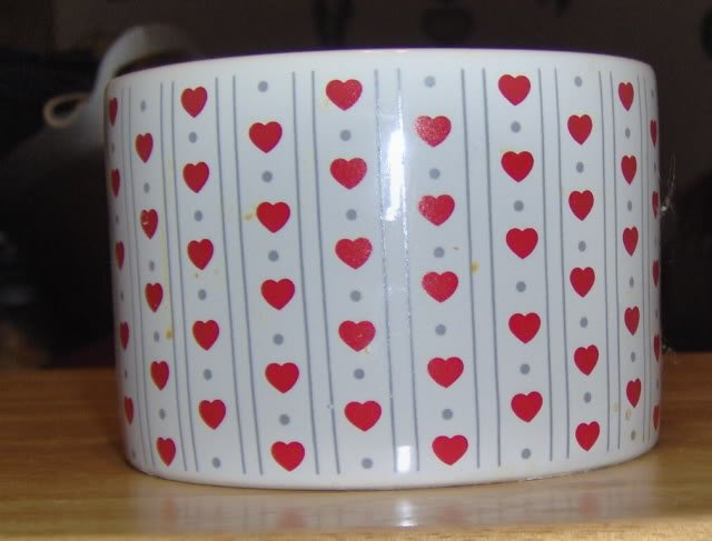 VALENTINE HEART BOWL, GREAT FOR A CATCH ALL, SNACKS,ETC