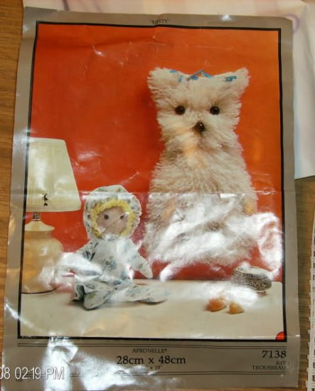 MISTY PUPPY KIT FROM AFRONELLE - SO CUTE & FUN TO MAKE