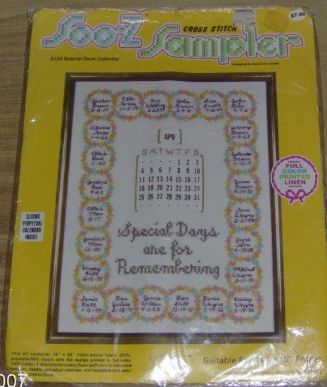 SOOZ SAMPLER SPECIAL DAYS ARE FOR REMEMBERING-NIP
