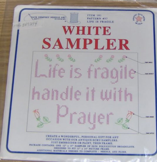 "JACK DEMPSEY SAMPLER ""LIFE IS FRAGILE "" - NIP"