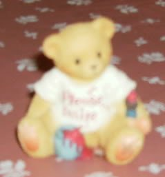 "Cherished Teddies ""Please Smile"" Figurine-Dated 1997"