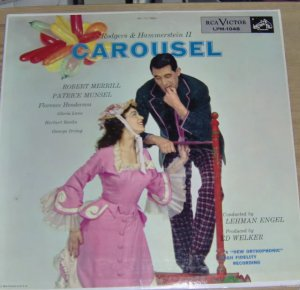 VINTAGE LPS: MOVIE TRACKS -SOUTH PACIFIC GYPSY CAROUSEL