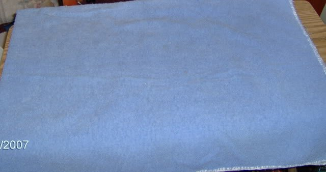 TERRYCLOTH TABLECLOTHS - PINK & BLUE - HANDMADE-NICE