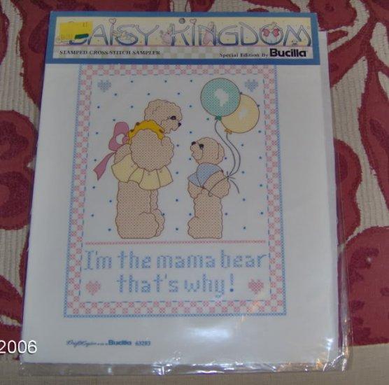 I'M THE MAMA BEAR THAT'S WHY - CUTE SAMPLER
