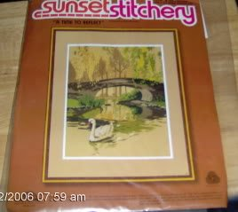 """SUNSET """" A TIME TO REFLECT"""" SWANS"""