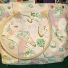 FADED GLORY PINK PAISLEY TOTE BAG,  VERY PRETTY