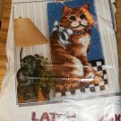 "CAT WALL HANGING FROM WONDERART 16"" X 32"" WALLHANGING"