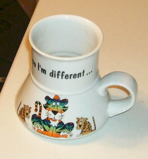 .....so I'm Different Cup - Unique - Cute Tiger