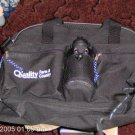 BLACK BAG WITH WATER BOTTLE, NEW