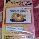 YARN ATTACK CAT - SO CUTE