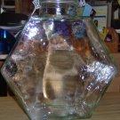OPAQUE GREEN GLASS JAR - DECORATIVE,USEFUL