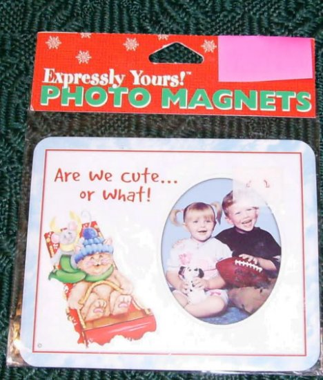 EXPRESSLY YOURS PHOTO MAGNET ARE WE CUTE OR WHAT