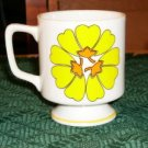 3 STYLECRAFT CUPS LAZY DAISY YELLOW DESIGN
