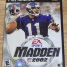 Madden NFL 2002 (Playstation)