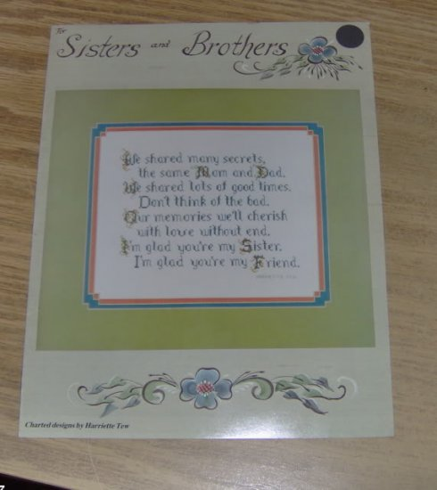 SISTERS AND BROTHERS PATTERN