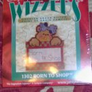 "SUGAR PLUM WIZZERS CHRISTMAS ""BORN TO SHOP"" BEAR"