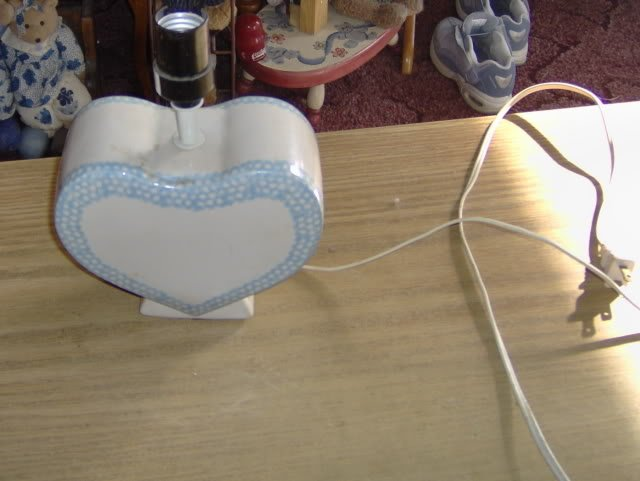 SWEET HEART SHAPED LAMP