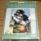 SWEET PLAYFUL KITTEN LATCH HOOK RUG KIT - JUST CUTE