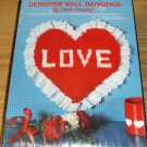 LOVE HEART WALL HANGING - EYELET TRIMMED- NICOLE CREAT