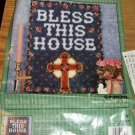 BLESS THIS HOUSE WITH CROSS FROM NATURA VERY NICE