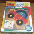 CUTE CAR LATCH HOOK RUG KIT KIDS DECOR KIDS ROOM 2
