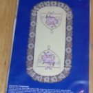 Betsy Ross Stamped Dresser Scarf-Country Primrose,Cute
