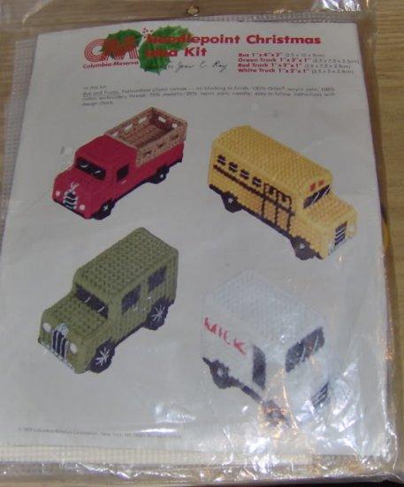3 TRUCKS AND A BUS - CHRISTMAS IDEA KIT-COL MIN