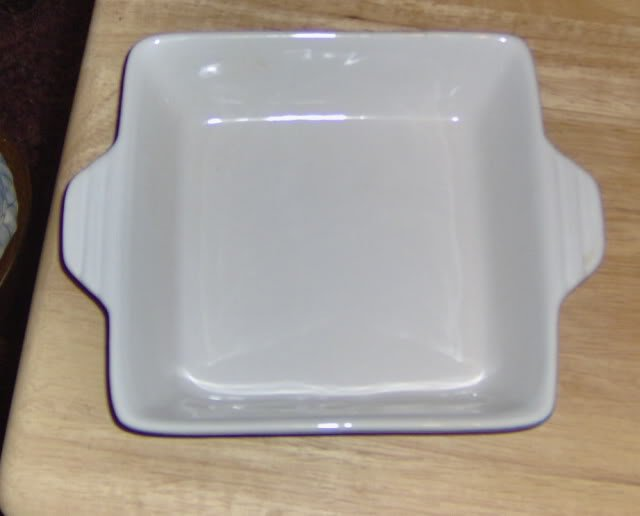 2 SMALL SERVING DISHES - NEW