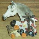 Pretty Horse Picture, Brush,& Knick Knack, Cute