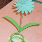 Bright Daisy Votive Holder or Decoration