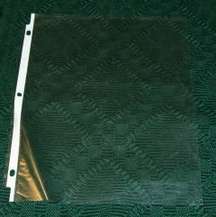 Clear Paper Sleeves, Protect Your Papers & Etc,Lot 1