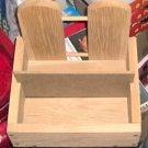Heavy Wooden Box, Handmade,Great In Shop or Garage