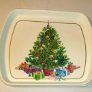 Cute Christmas Tree Plastic Tray - Serve or Decorate