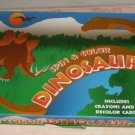 Spin & Color Dinosaur Game,Color Cards,Ages 4-10,Fun