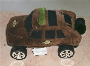 Novelty Sheriffs Car Pillow, Play or Decor,No Tag
