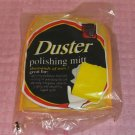 Duster Polishing Mitt,Easy To Use Mitt  Dusting Chores