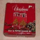Christmas Tree Salt & Pepper Shakers in Box,Carleton Co