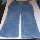 Girls Laced Jeans,Size 12,4-Pocket,Cute Jeans,Cotton